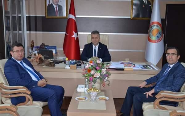 Samsun Haberleri: Kaymakamlardan Başkan Topaloğlu'na Ziyaret