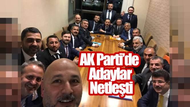 Samsun Haberleri: AK Parti'de Adaylar Netleşti
