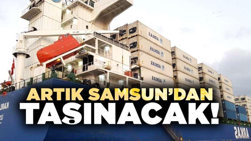 Artık Samsun'dan taşınacak