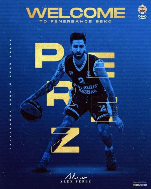 Alex Perez, Fenerbahçe'de