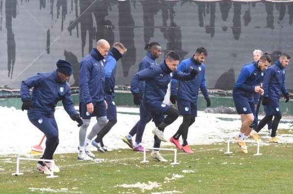 BB Erzurumspor, Trabzonspor maçı hazırlıklarını tamamladı