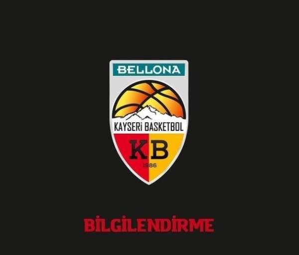 Birevim Elazığ Özel İdaresi - Bellona Kayseri Basketbol Maçına Covid-19 Engeli