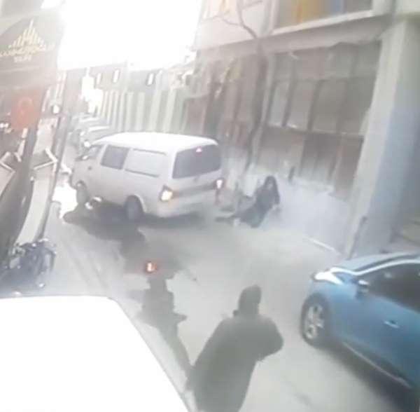 Görünmez kaza kameralara yansıdı