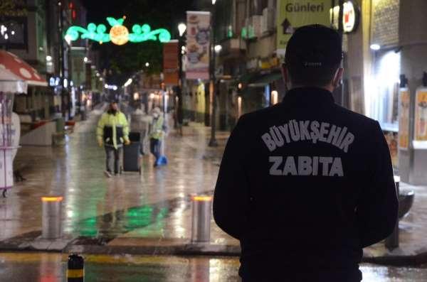 Kısıtlama başladı, Ordu sokakları ıssız kaldı