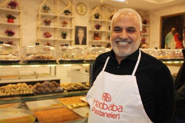 Kısıtlamalar başladı Hacıbaba Pastaneleri evlere paket servisine geçti