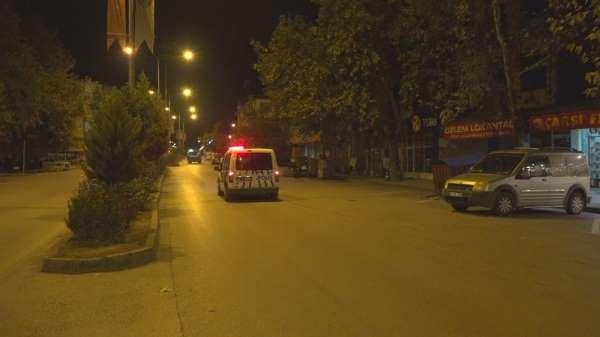 Taşova'da sokaklar bomboş