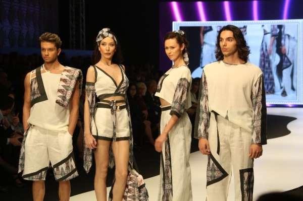 7. Ev ve Plaj Giyim Tasarım Yarışması'nın defilesi ve ödül töreni yapıldı