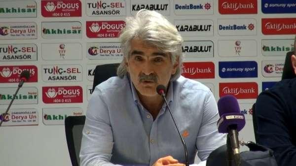 Akhisarspor - Adanademirspor maçının ardından