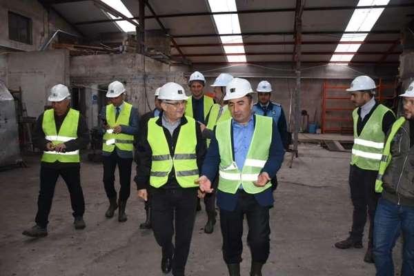 Başkan Sülük, maden işçileriyle bir araya geldi