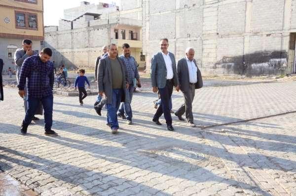 Eyyübiye'ye yeni yol ve parklar kazandırılıyor