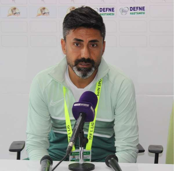 Hatayspor - Altay maçının ardından