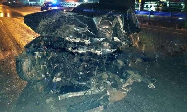 KKTC'de trafik kazası : 2 ölü