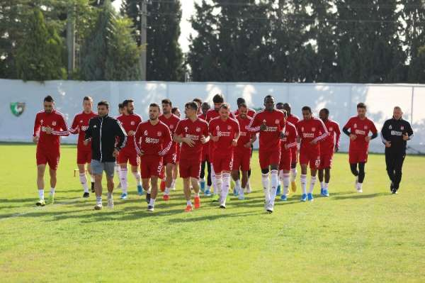 Sivasspor, Denizlispor maçına hazır