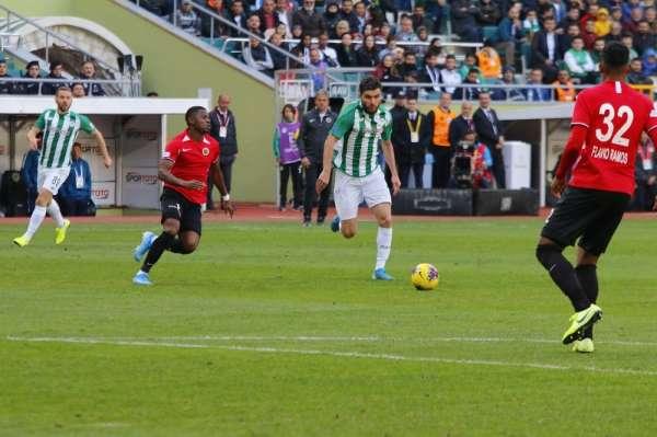Süper Lig: Konyaspor: 1 - Gençlerbirliği: 1 (Maç sonucu)