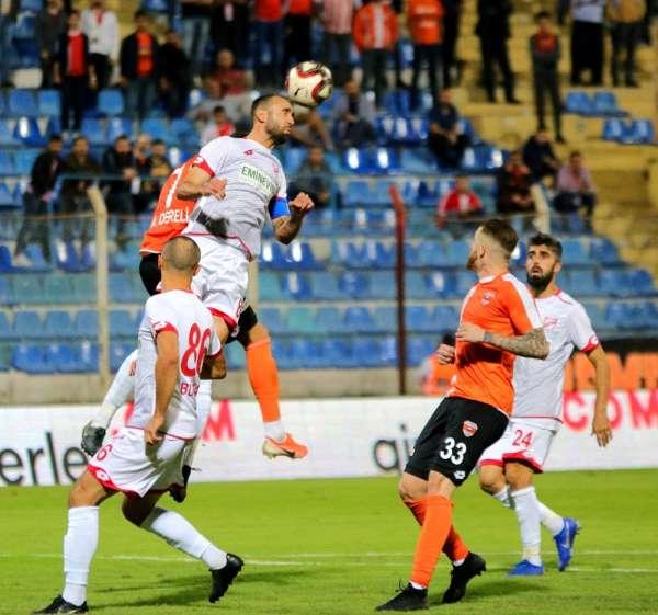 TFF 1. Lig: Adanaspor: 0 - Boluspor: 0