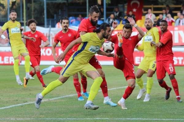 TFF 1. Lig: Menemenspor: 1 - Ümraniyespor: 0
