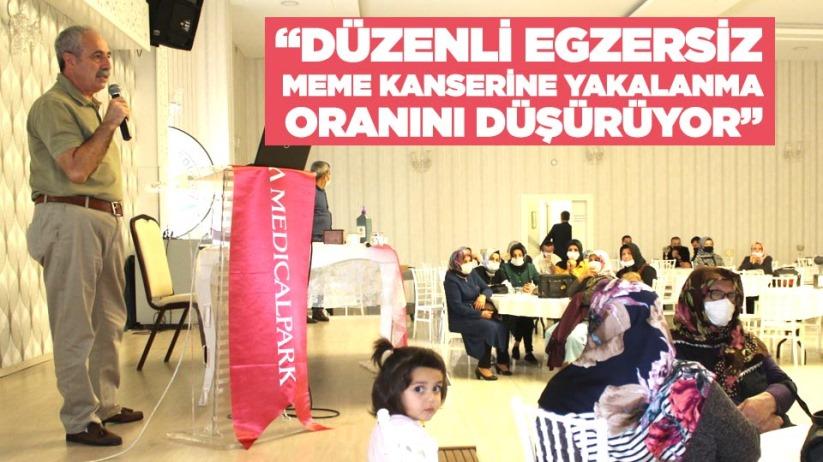 'DÜZENLİ EGZERSİZ MEME KANSERİNE YAKALANMA ORANINI DÜŞÜRÜYOR'
