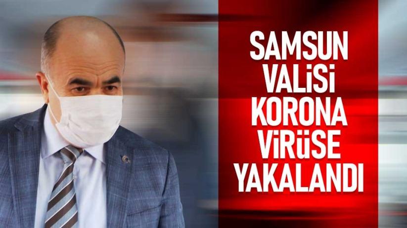 Samsun Valisi Zülkif Dağlı korona virüse yakalandı