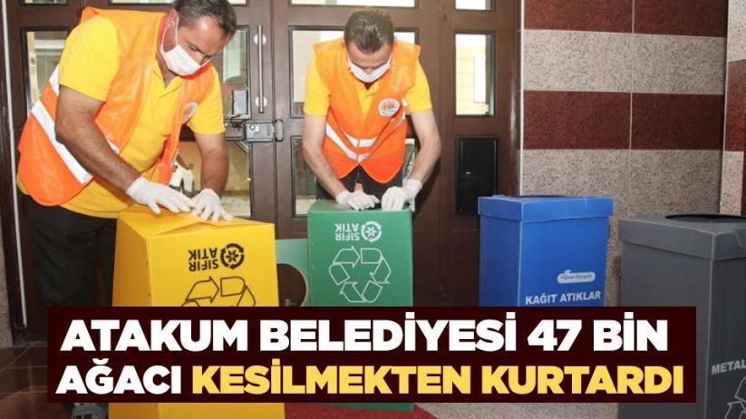 Atakum Belediyesi 47 bin ağacı kesilmekten kurtardı