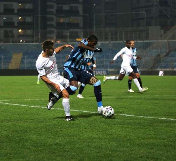 TFF 1. Lig: Adana Demirspor: 3 - Tuzlaspor: 0 (İlk yarı sonucu)