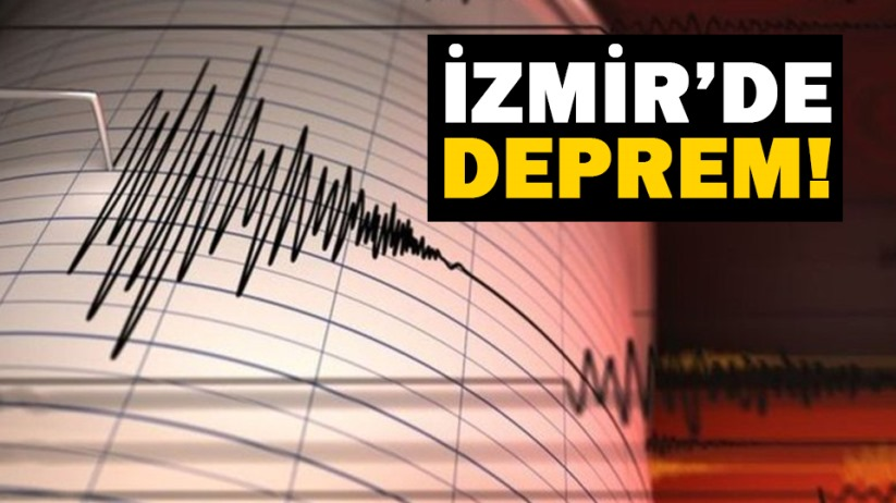 İzmirde deprem!