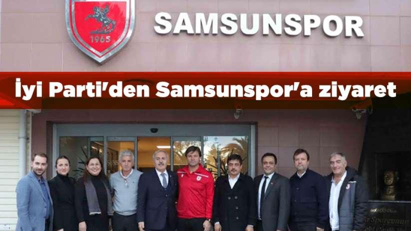 İyi Parti'den Samsunspor'a ziyaret