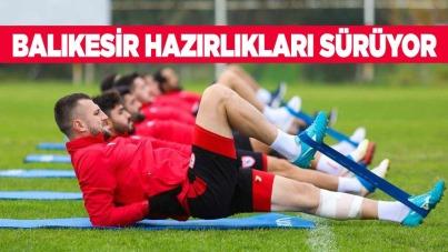 Samsunspor'da Balıkesir Hazırlıkları Sürüyor