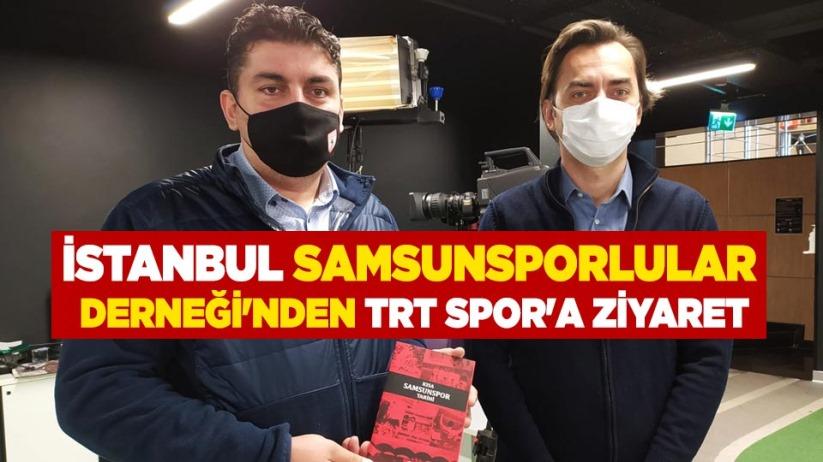 İstanbul Samsunsporlular Derneğinden TRT Spora Ziyaret