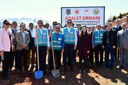 Tunceli'de 'Adalet Ormanı' oluşturuldu