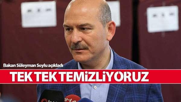 'Hain PKK ile ilgili ne varsa tek tek temizliyoruz'