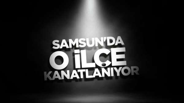 Samsun'da o ilçenin logosu değişti