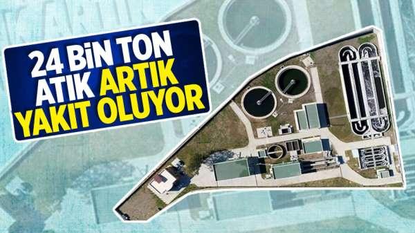Samsun'da 24 bin ton atık artık yakıt oluyor