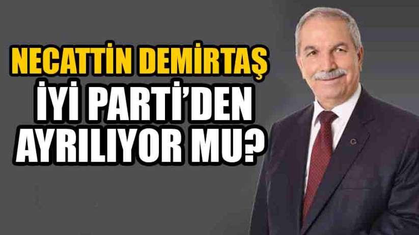 Samsun İlkadım Belediye Başkanı Necattin Demirtaş parti mi değiştiriyor