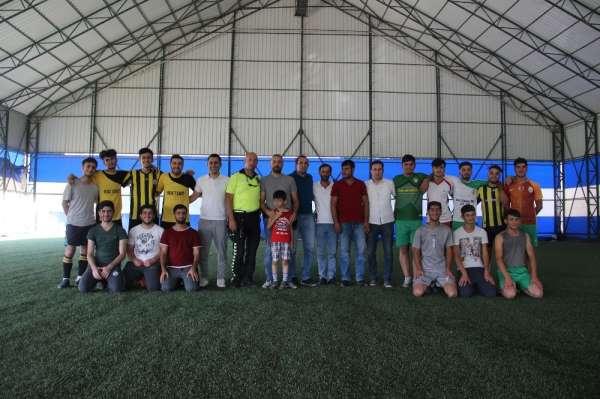 Solhan'da mahalleler arası futbol turnuvası başladı