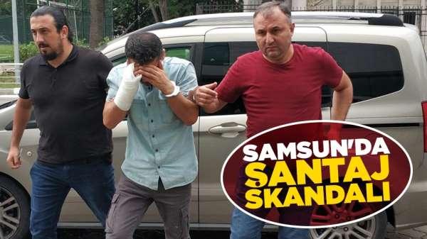 Samsun'da cezaevi firarisinden görüntülü şantaj
