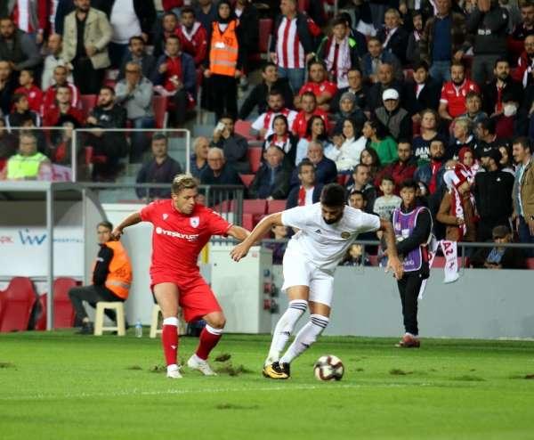 TFF 2. Lig: Yılport Samsunspor: 5 - Tarsus İdman Yurdu: 0