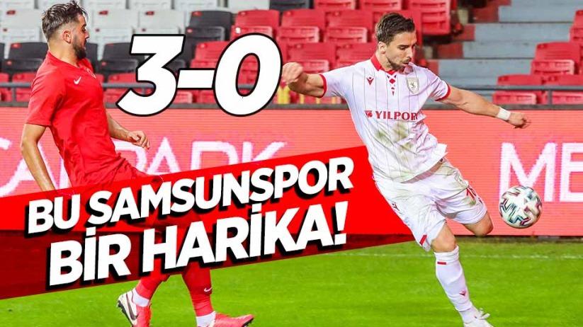 Samsunspor-Ümraniyespor maç sonucu: 3-0