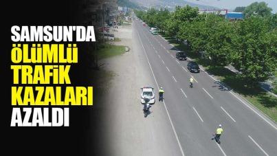 Samsun'da ölümlü trafik kazaları azaldı