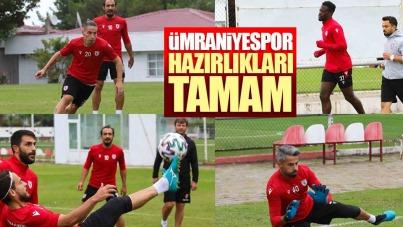 Samsunspor'da Ümraniyespor hazırlıkları tamam