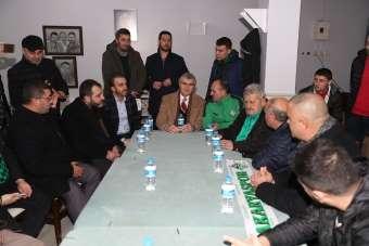 Başkan Yüce: 'Tek arzumuz Sakaryaspor'un eski günlerine dönmesidir'