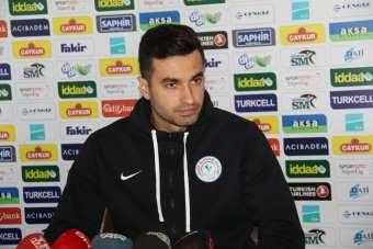 Çaykur Rizespor kalecisi Gökhan Akkan: 'Hedefim Avrupa'