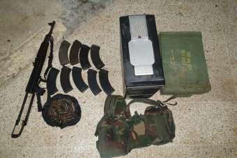 Eylem hazırlığındaki 4 PKK/YPG'li terörist Tel Abyad'da yakalandı