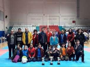 Kayserili sporcular Samsun'dan 19 madalya ile döndü