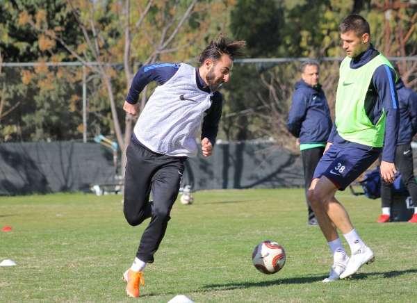 Lider Hatayspor, Menemen maçı hazırlıklarını sürdürüyor