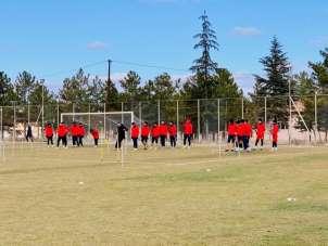 Nevşehir Belediyespor'da Osmaniyespor deplasmanı için hazırlıklar sürüyor