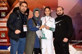 TOHM Sporcusu Nazlıcan Tekel, Türkiye üçüncüsü oldu