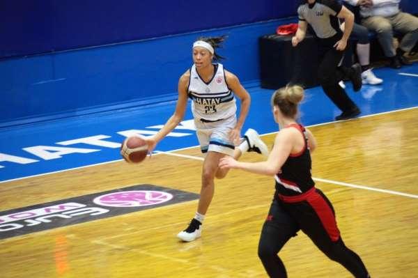 Basketbol FIBA Kadınlar Avrupa Kupası: Hatay BŞB: 77 - S. Moskova: 72