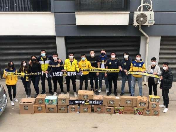 Genç Fenerbahçelilerden ihtiyaç sahibi ailelere yardım eli