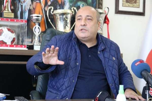 Kahramanamraşspor Kulübü Başkanı Fatih Mehmet Ceyhan istifa etti