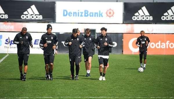 Beşiktaşta Kasımpaşa maçı hazırlıkları başladı